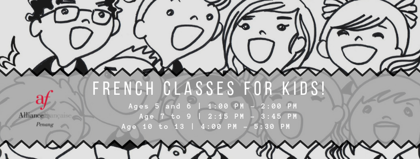 French classes for kids!