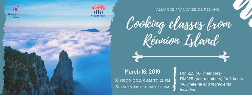 Cooking classes from Réunion Island